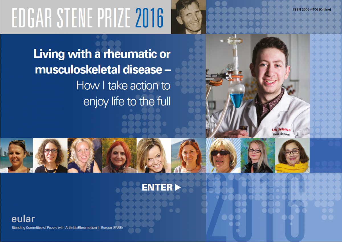 Cover Edgar Stene Prize (wedstrijd) 2016