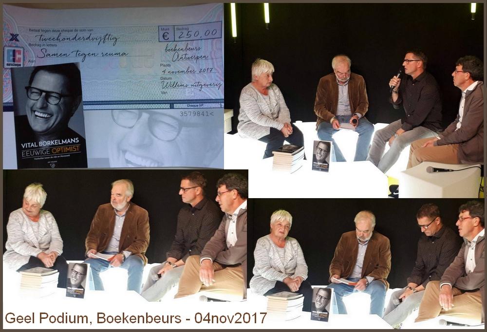 Vital Borkelmans steunt met 'Eeuwige Optimist'