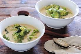 Bloemkool- / broccolisoep
