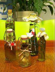 Kruidenazijn of -olie  (geschenkidee)